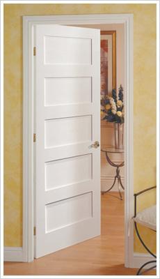 ECO festett mart MDF beltéri ajtó